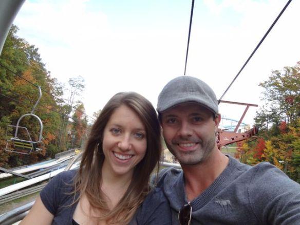 Jennifer & Raymond in Gatlinburg