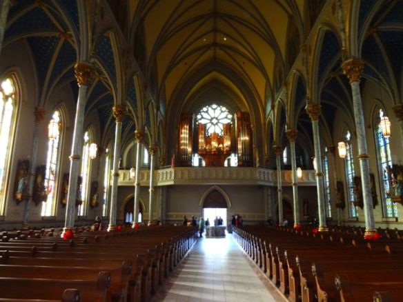 Inside of Cathedral of St. John the Baptist