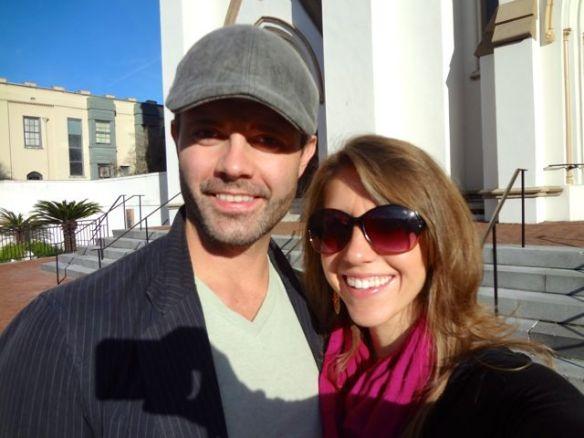 Jennifer & Raymond in Savannah
