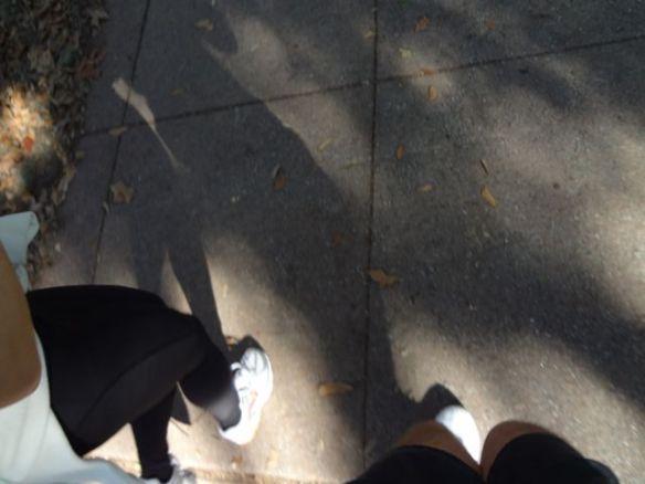 Running in Savannah