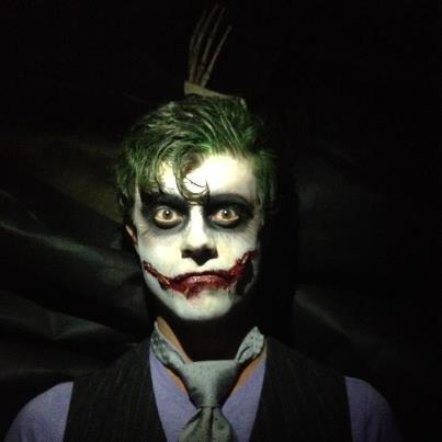 the joker costume | Pure & Simple Organizing