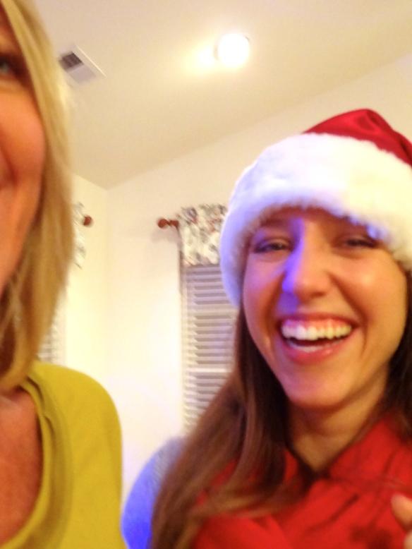Mom & I having some holiday fun :)