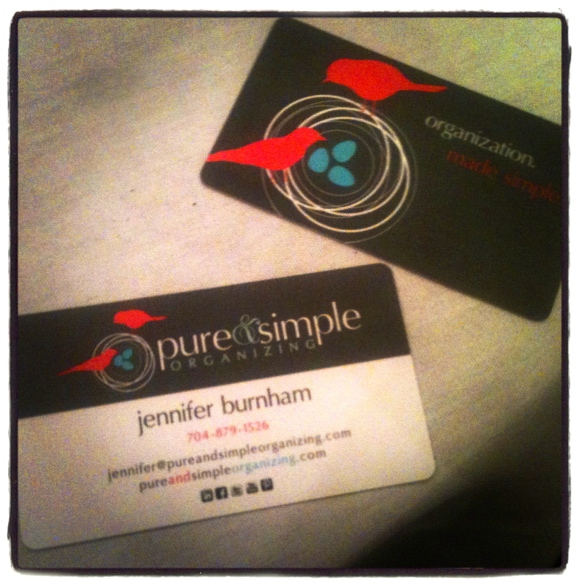 New logo & new business cards