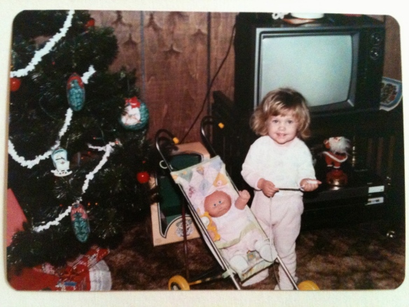 My second Christmas {Christmas 1984}