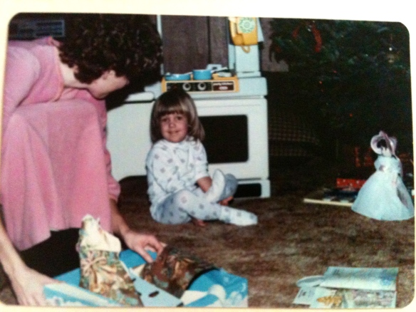 My third Christmas {December 1985}