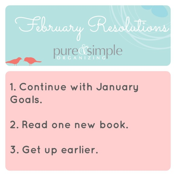 Pure & Simple | February Resolutions