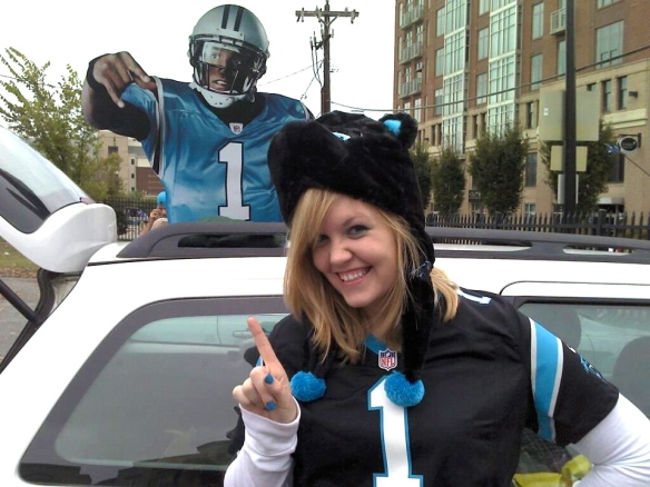 Hanging with Cam Newton ;)
