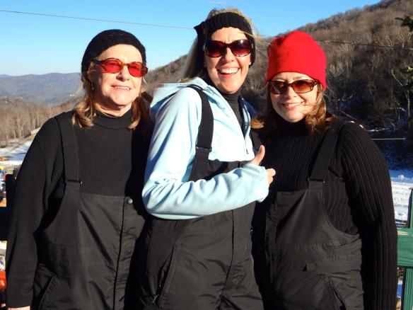 Margaret, Mom, Cindy {Post Tubing}