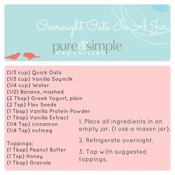 OOIAJ Recipe | Pure & Simple