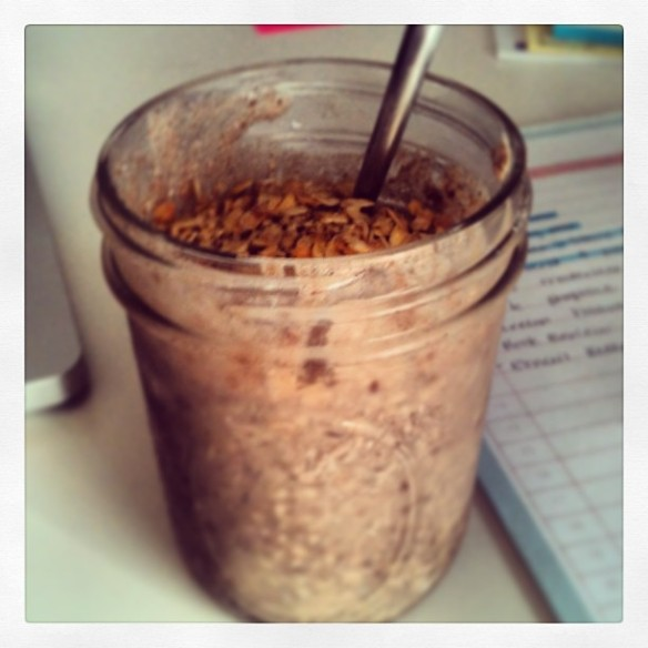 Overnight Oats In A Jar | Recipe