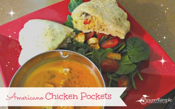 Americano Chicken Pockets Recipe | Pure & Simple