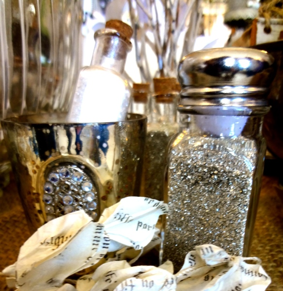 Glitter Organizer Inspiration | Pure & Simple