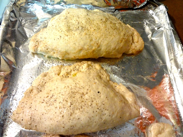 Americano Chicken Pockets  Ready for the oven | Pure & Simple