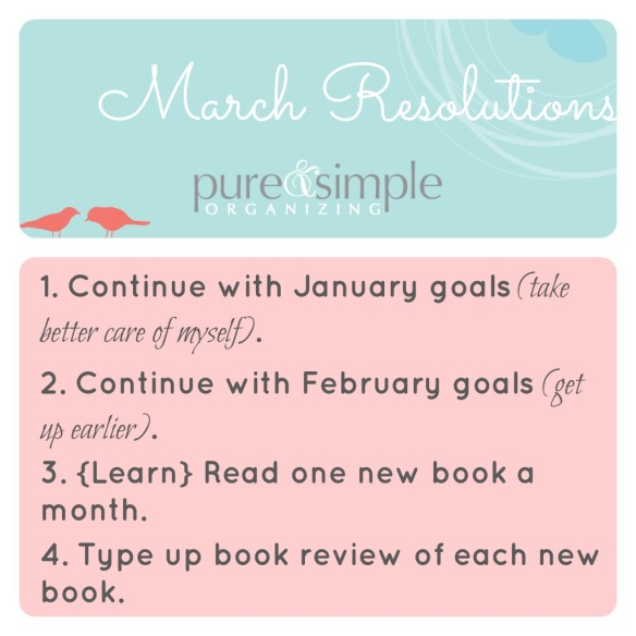 March Resolutions