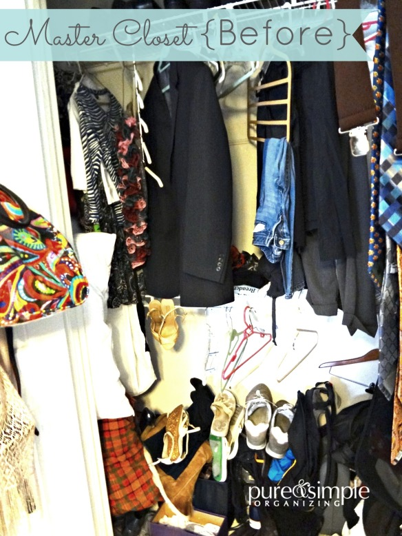 Master Closet Before | Pure & Simple