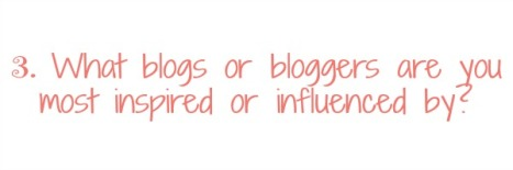 What blogs or bloggers