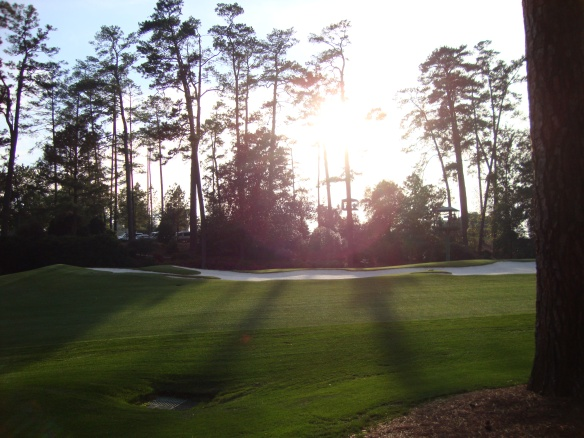 Sunset at Augusta National