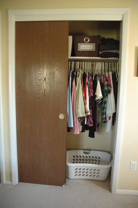Master Bedroom Closet After 2