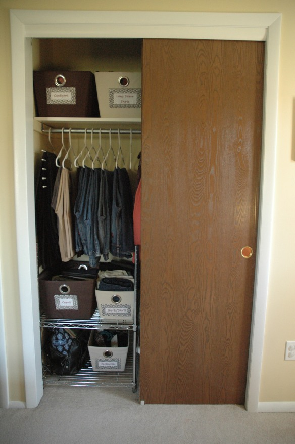 Master Bedroom Closet After