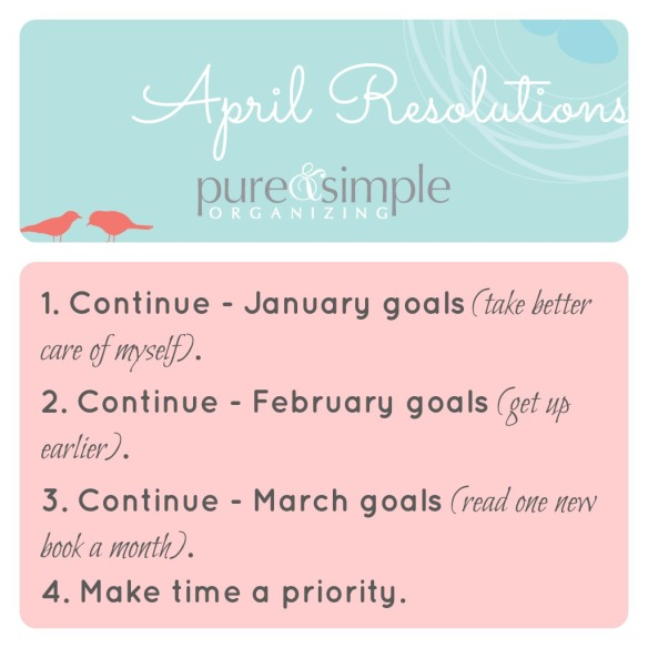 April Resolutions