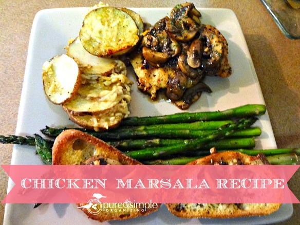 Chicken Marsala Recipe | Pure & Simple