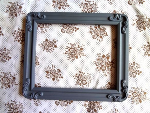 Goodwill Thrifted Frame - Priming
