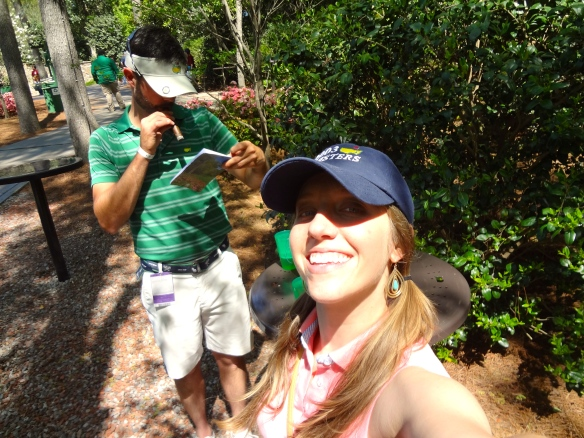 Jennifer & Raymond at Augusta National Masters Championship