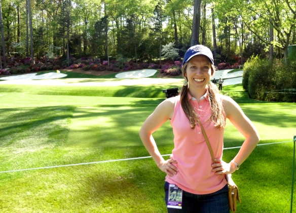 Jennifer at The Masters Championship