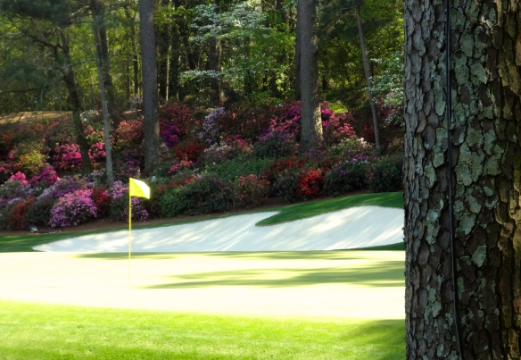 Masters Championship Augusta National Flagstand