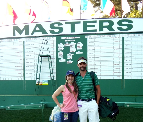 Jennifer & Raymond Augusta National Masters Leader Board
