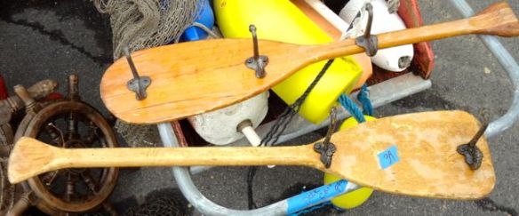 Paddles turned hooks