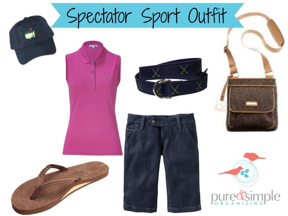 Spectator Sport Outfit | Pure & Simple