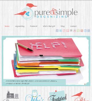 http://www.pureandsimpleorganizing.com/