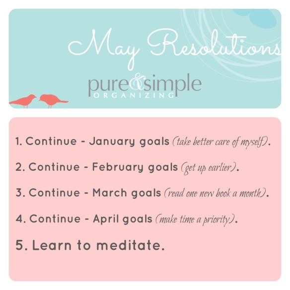 May Resolutions